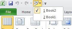 Switch Workbooks button