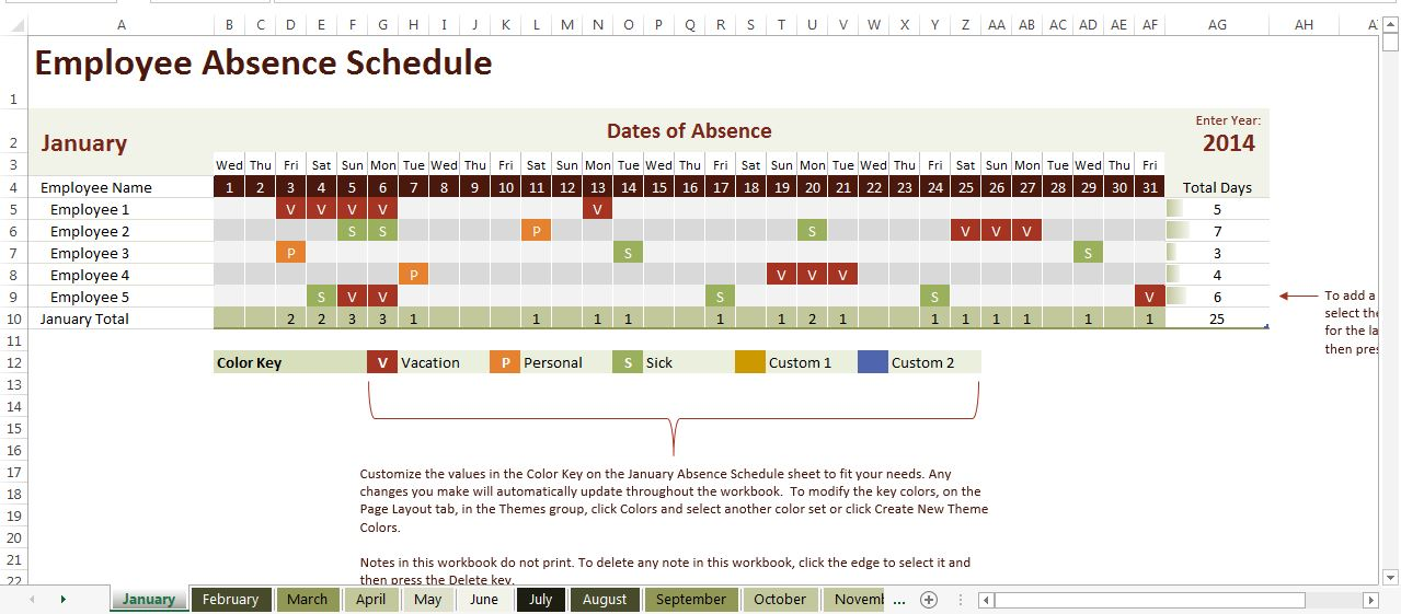 Calendar Monthly Rent Calculator : Using excel to streamline human resources processes