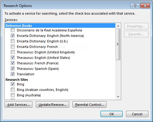 Using the Research Pane within Word 2013 - Onsite Software Training