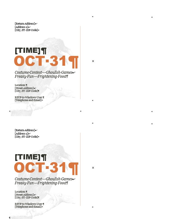 powerpoint postcard template
