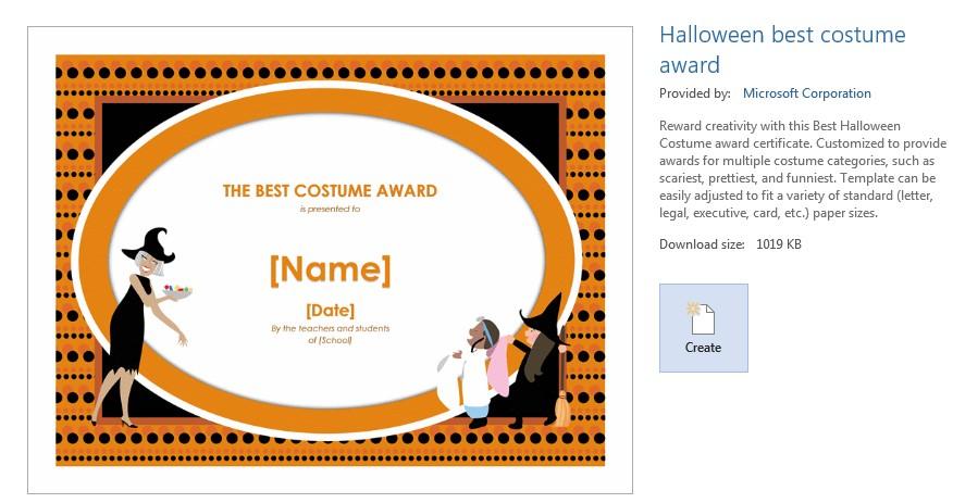 Halloween Costumes Awards Categories Kubreforic