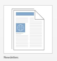 Newsletter category