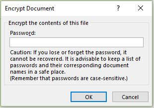 protect excel sheet from opening
