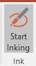 PowerPoint Inking Start Inking button