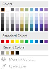 Inking Colors screenshot