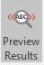 mail merge labels - preview results button on mailings tab